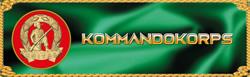 Kommandokorps, Kommando Korps, Commando Corps, Commandocorps Logo